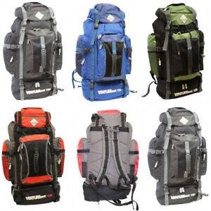 9335e65ef34b Details about Large Camping Hiking Travel Festival Rucksack Backpack Bag  Back Pack New 120L