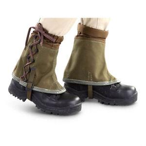 Australian Style Mud Gaiters Size Medium Army /& Military