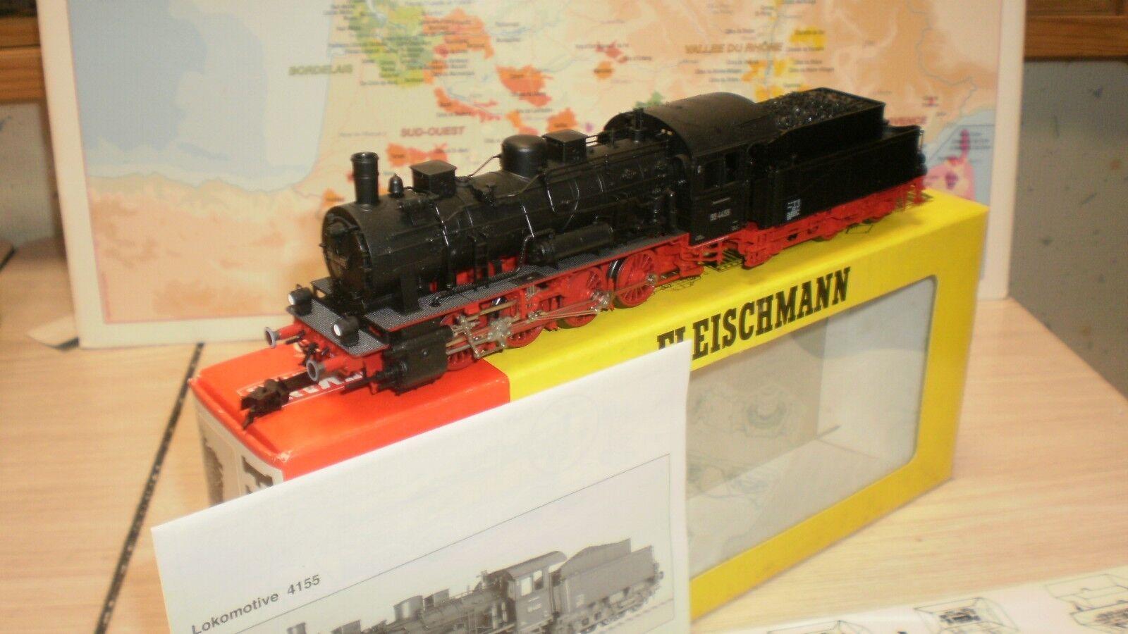 Loco vapeur BR 55 4455 DB fleischmann