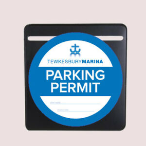 BLACK-PARKING-PERMIT-HOLDER-SELF-ADHESIVE-TICKET-HOLDER-FOR-WINDSCREEN