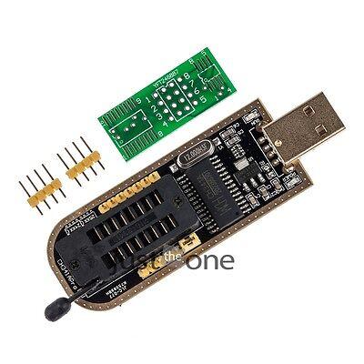 New CH341A Series Chip 24 EEPROM BIOS Writer 25 SPI Flash USB Programmer