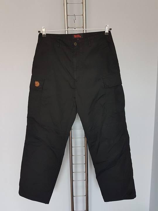FJALLRAVEN   Hose black Trekkinghose Outdoor  Gr.42  quick answers