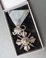 original  Bulgarien Militärverdienstorden silbernes Verdienstkreuz