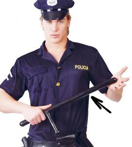 MATRAQUE-de-POLICE-Tonfa-Accessoire-Deguisement-Policier-NEUF