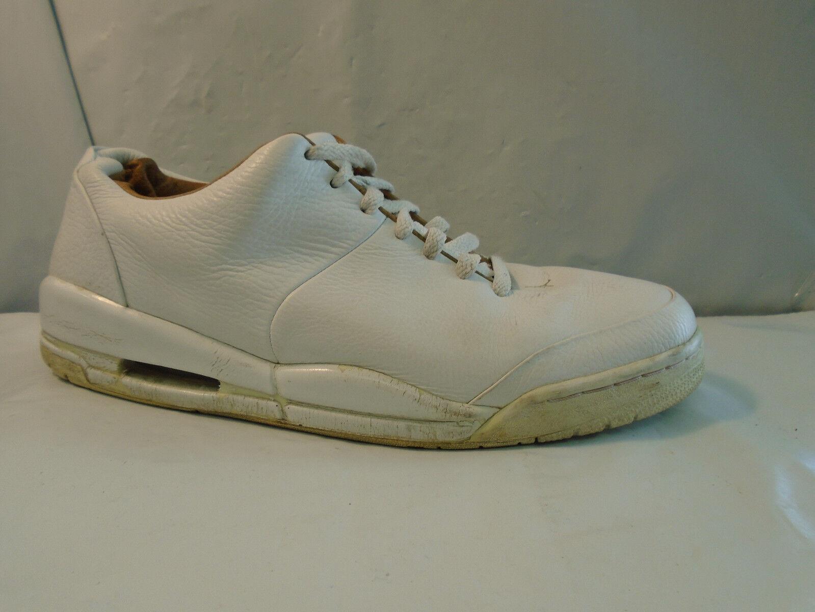 36cb6abf85cfb7 ... Air Jordan 23 Classic Men s White Leather Athletic Shoes Men s Classic  Size 12 M 313480- ...