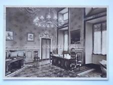 MILANO palazzo Marino interno Mussolini lampada Venini vecchia cartolina