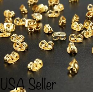 20-Gold-Plated-Earring-Back-Stoppers-Butterfly-Shaped