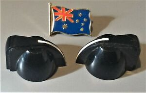2-x-SMALL-034-CHICKEN-HEAD-034-STYLE-CONTROL-KNOBS-BLACK-NEW