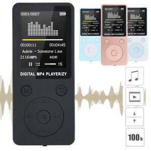 Multifunction MP3 MP4 Lossless Music AMV Video Media Player FM Radio Recorder US