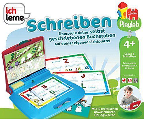 Jumbo Spiele Ich lerne Schreiben Kinder Lern Konzentrieren Kombinieren Spielzeug