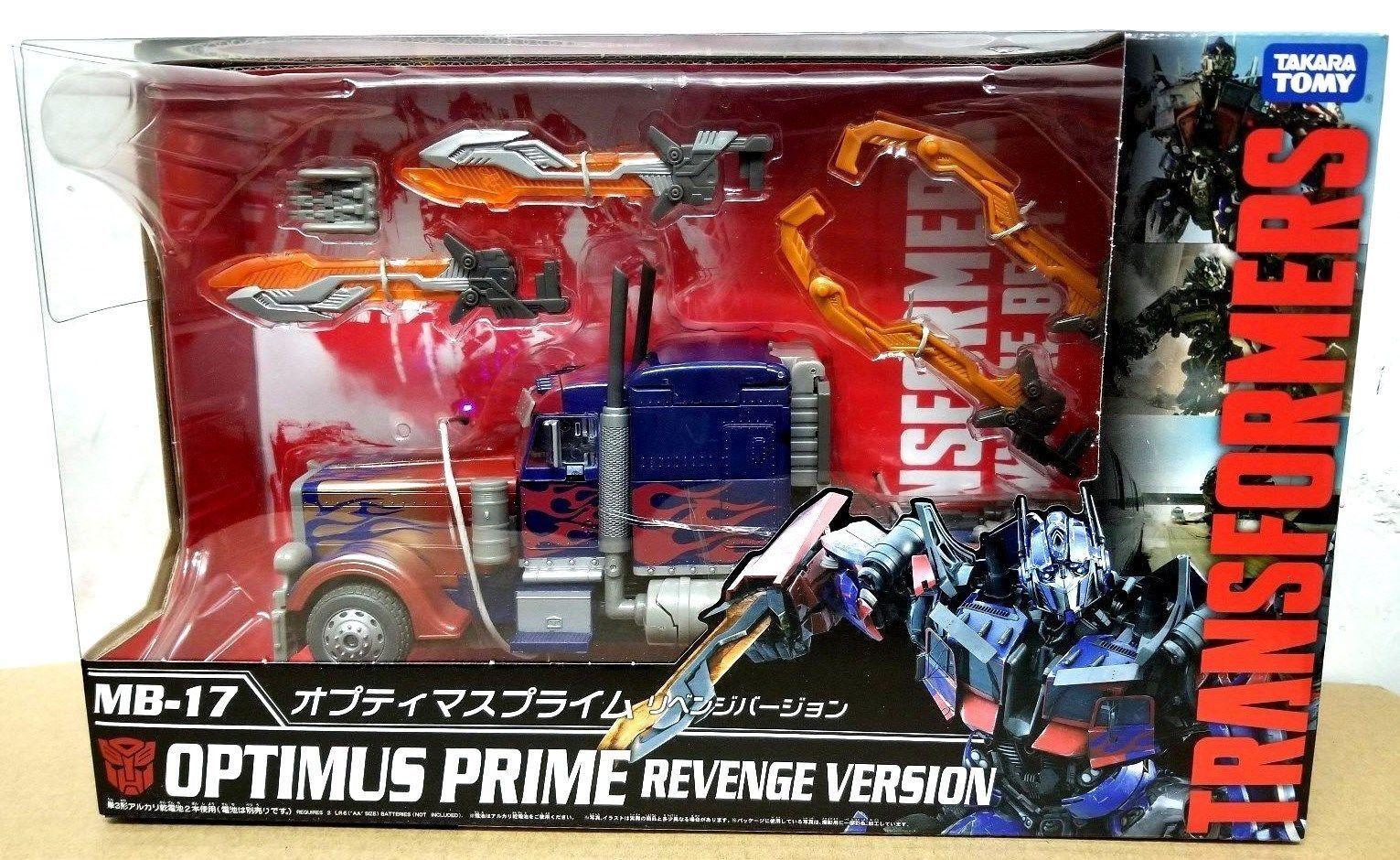 Película Transformers Masterpiece figura la mejor serie Optimus Prime MB-17 TAKARA