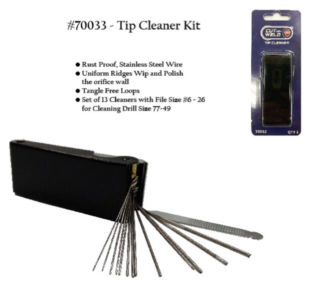 Standard size tip cleaners by Wypo Made in USA Box of 12