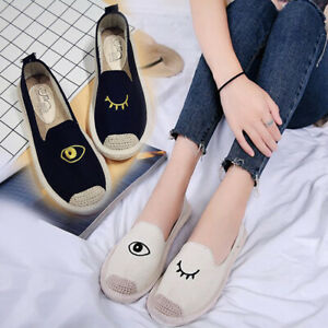 Women-Fisherman-Shoes-Embroidered-Straw-Canvas-Flat-Casual-Shallow-Shoes-Fashion
