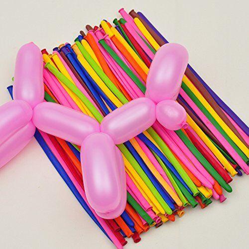 10//50//100Pcs Mixed Color Magic Long Balloons Tying Making Twist Latex Balloons