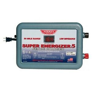 NEW-PARKER-MCCRORY-SE-5-4-SUPER-ENERGIZER-5-110V-50-MILE-CHARGER-USA-5197280