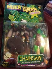 Marvel's The Incredible Hulk OutCasts ChainSaw  MOC 1997 Toy Biz