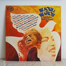 THE POWER & THE GLORY 2 Rock & Gospel Hits UK MFP LP '73 FUNK DRUM BREAK