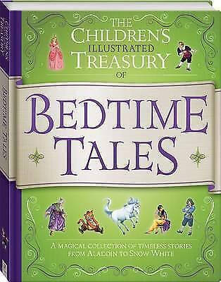 1 of 1 - Illustrated Treasury of Bedtime Tales by Hinkler Books (Hardback, 2015)