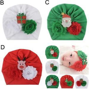 Toddler Baby Boy Girl Velvet Pompom Turban Hat Photo Prop Beanie Cap Spl EB/_ FP