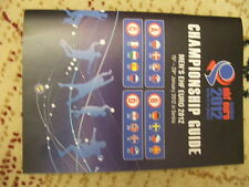 Media Guide handball EHF Euro  european championship 2012 Serbia