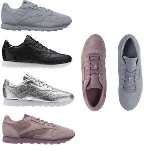 04b8cbd75de93a Reebok Women s NEW Classics Retro Heritage Lace Up Sneakers Casual ...