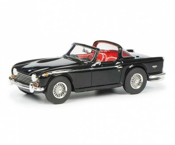 Schuco Triumph TR5 with open surrey top 1 43 450887400