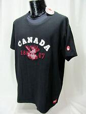 NWT Hudson Bay Co HBC. Canada Olympic  Black Men's XL Cotton Tee Shirt