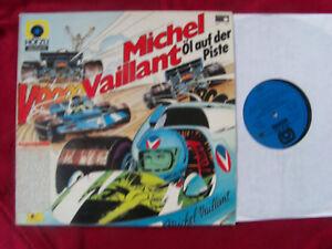 Michel-Vaillant-Ol-auf-der-Piste-rare-Metronome-HoerZu-LP-im-klasse-Zust