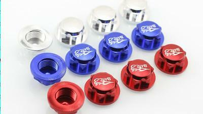 GTB racing dust nut cover cap wheel nut for Losi 5ive t 5t red color