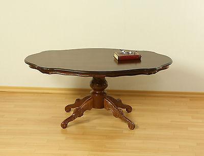 Couchtisch Tisch Beistelltisch Wohnzimmertisch Massivholz nussbaum antik