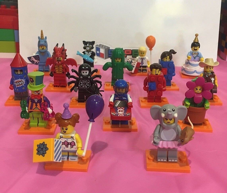 Lego Collectible Minifigures Series 18 (complete, NO POLICEMAN)