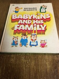 Babykins-And-His-Family-by-Richard-Scarry-1973-Vintage-HC
