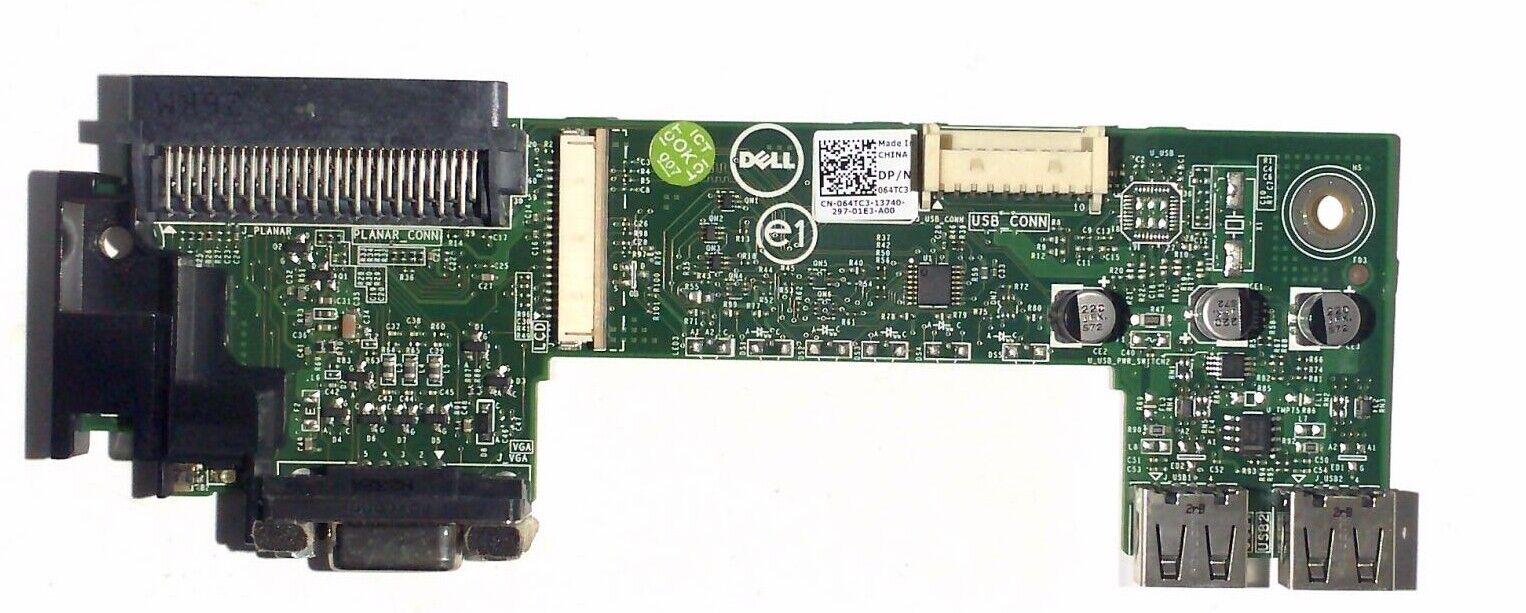 Dell poweredge r320 r420 r520 front control panel board 64tc3
