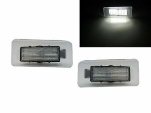 Cerato MK1 11-13 Sedan/Hatchback/Coupe 2D/4D/5D LED License Lamp White for KIA