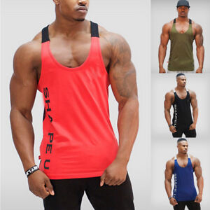 c01c0e43ba572 Image is loading USA-Men-Gym-Clothing-Bodybuilding-Stringer-Hoodie-Tank-