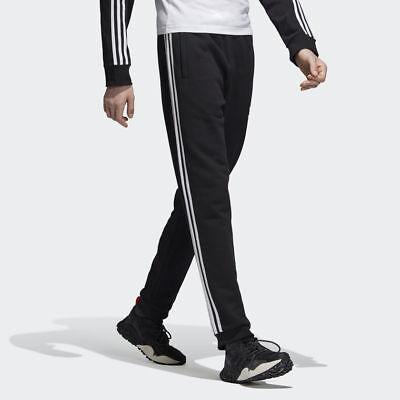 NEW MEN'S ADIDAS ORIGINALS 3-STRIPED SWEAT PANTS [DH5801] BLACK//WHITE |  eBay