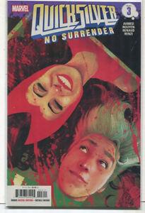 Quick-Silver-No-Surrender-Part-3-NM-Marvel-Comics-MD13