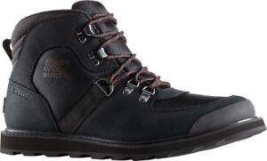 61f53cd6c32 Sorel Madson Sport Hiker Waterproof Boot (Men's) in Black Waterproof ...