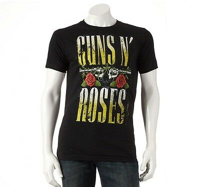 OFFICIAL LICENSED GUNS N ROSES AMPLIFIED AXL ROSE SLASH ADULT TEE T-SHIRT BNWT