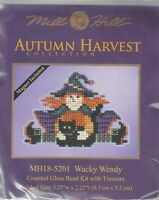 Halloween Wacky Wendy Witch Glass Bead & Treasure Mill Hill Kit