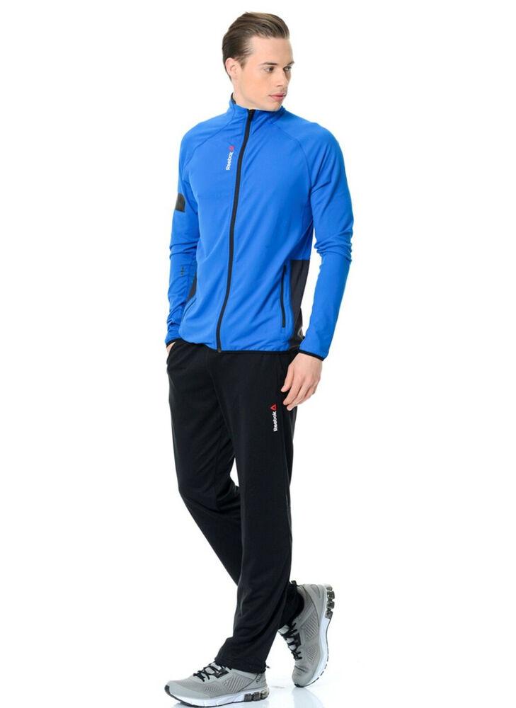 Reebok Homme Taille Xl One Série Bioknit Stadium Veste De Survêtement, Bleu