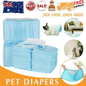 50-400-Dog-Training-Mat-Toilet-Pads-PET-Puppy-Indoor-Grass-Potty-Pad-60x60CM