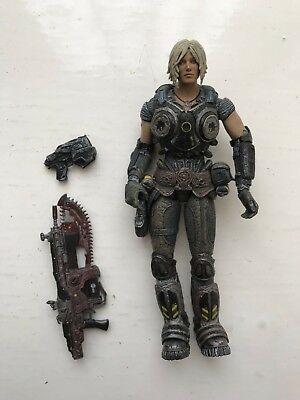 """2006 Neca 7"""" Gears Of War 3 Series 1 Anya Stroud Action Figure + Accessories Wohltuend FüR Das Sperma"""