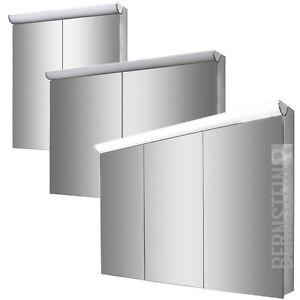 BERNSTEIN Spiegelschrank Spiegel Wandspiegel LED Beleuchtung 120cm ...