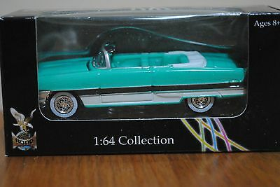 Diecast Car Green 1955 Packard Caribbean Yat Ming 1: 64 Collection US Classic