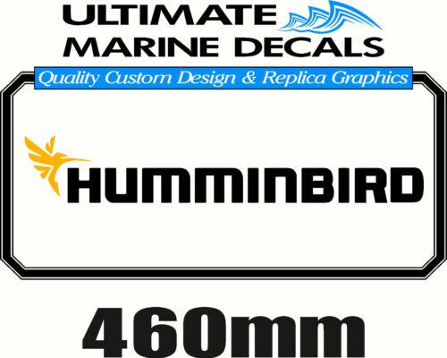 Humminbird Fishing Boat Sticker Decal 460 x 65mm