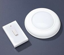 Wireless LED Light with Switch Ceiling Wall Hallway Flush Design Battery NEW