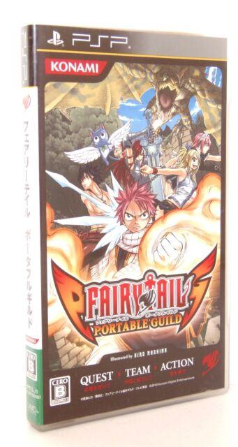 FAIRY TAIL Portable Guild Sony PSP Japan