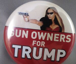 WHOLESALE LOT OF 10 GUN OWNERS FOR  TRUMP STICKERS women Melania 2nd Amendment