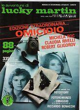 fotoromanzo LE AVVENTURE DI LUCKY MARTIN ANNO 1980 NUMERO 139 RIVELLI GLIGOROV